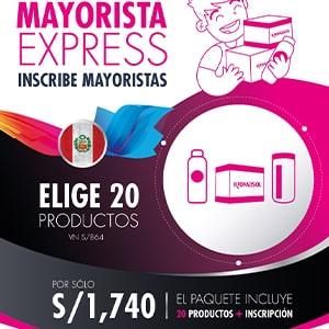 Paquete Mayorista Express