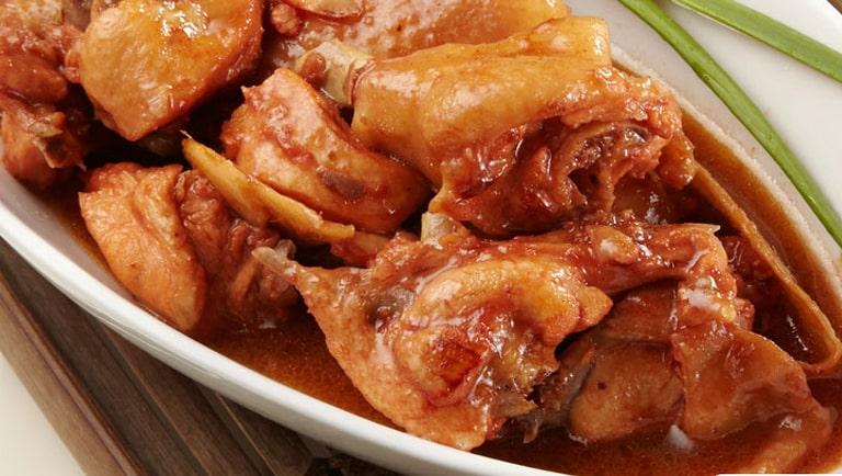 Pollo al vino KromaNutrición