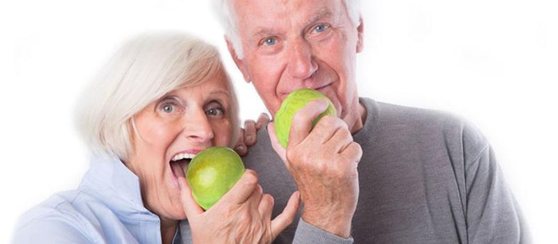 Manzanas y los mayores de edad